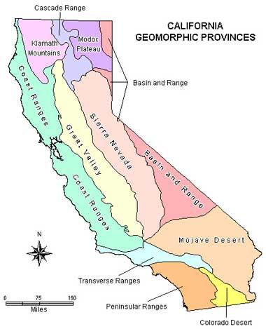 Geology Of California