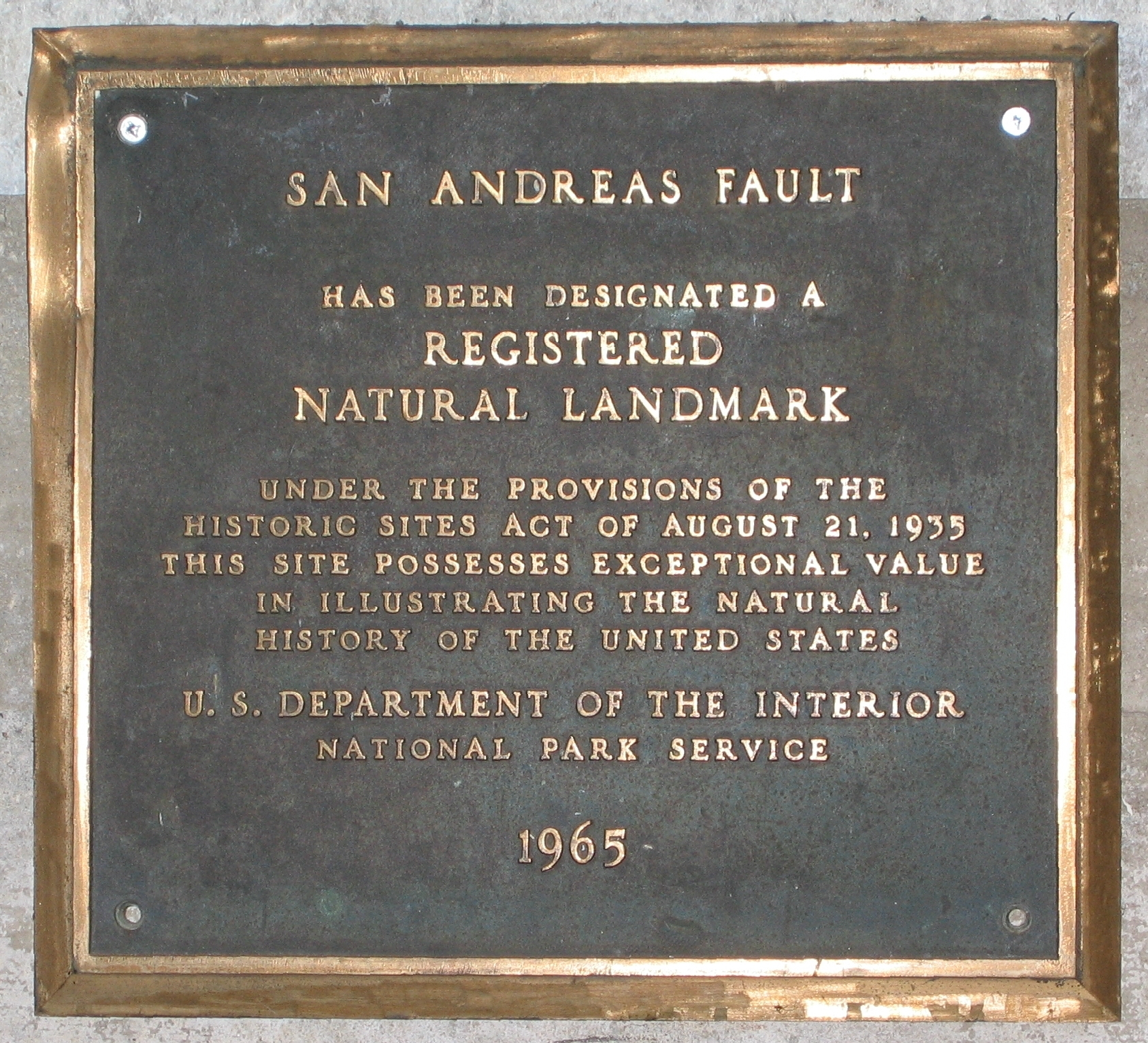 Information And Resources About The San Andreas Fault