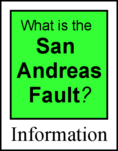 San Andreas Fault Homepage Information Photos Maps Fault - Map san andreas fault