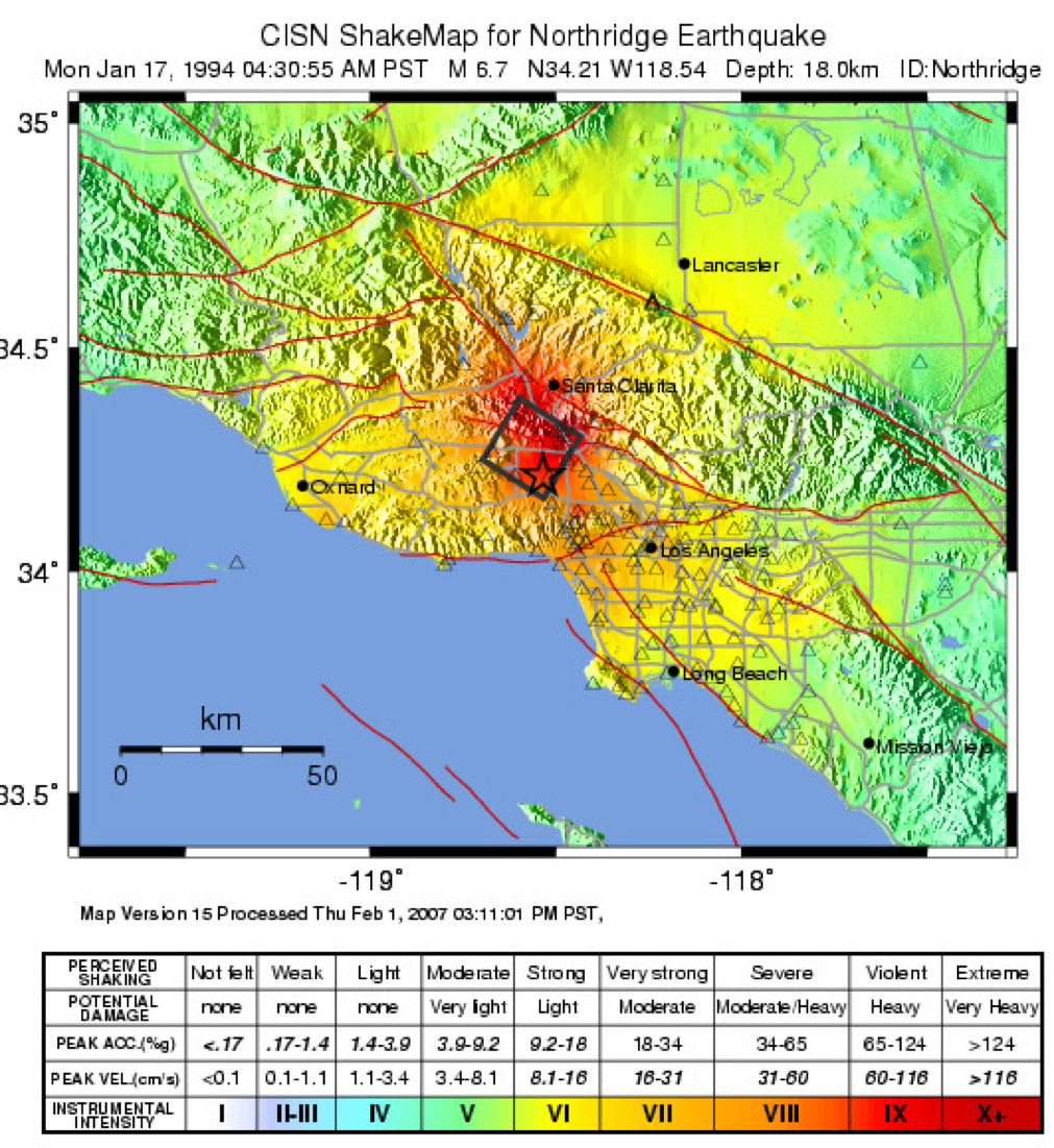 Did you feel it? How hard does the ground shake in an earthquake?